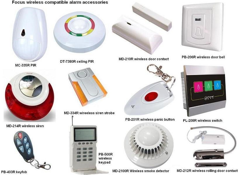 Campus emergency and intrusion alarm
